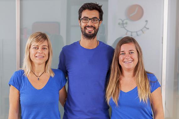 Amaya,Macarena y Miguel - quiroprácticos Málaga