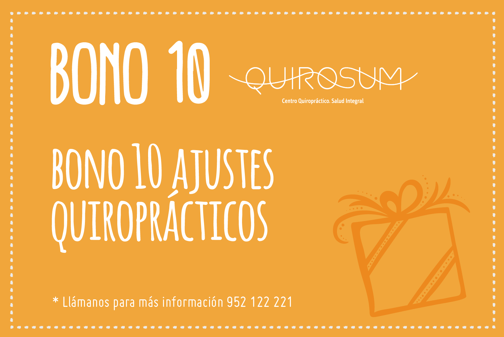 Bono Quiropractico