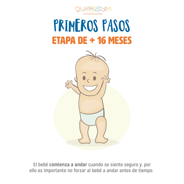 bebé primeros pasos
